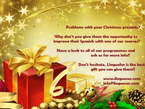 LinguaSur wants to help you with your Christmas presents!!